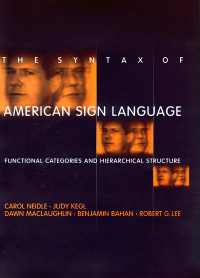 Book jacket for The Syntax of ASL: link to MIT Press for more info about the book