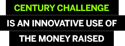 Century Challenge is an innovative use of the money raised