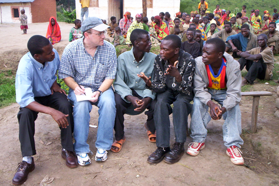 Timothy Longman in Burundi, director Boston University African Studies Center, Rwanda war crimes expert witness