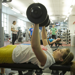 Boston University BU, womens weight lifting class, instructor Dan Zaltz, research psychology Andrea Mercurio