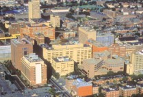 Boston University Medical Campus, BUMC, School of Public Health SPH, School of Medicine MED, Henry M. Goldman School of Dental Medicine SDM