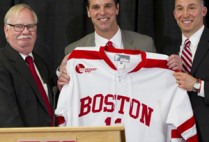Boston University BU, mens hockey coach David Quinn
