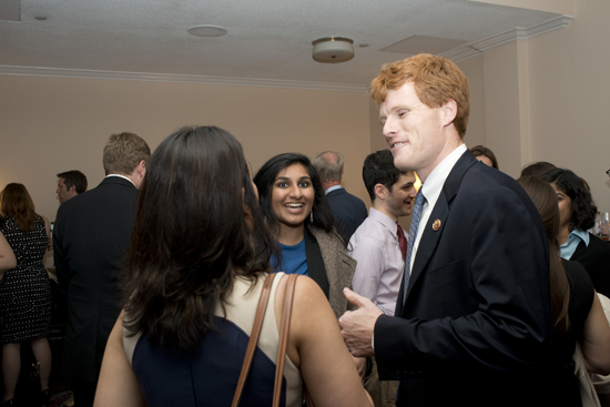 Joseph P. Kennedy III, Boston University BU reception for Washington DC governement officials and alumni