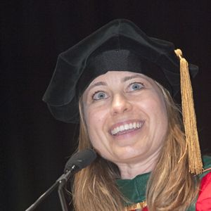 Jessica Gaeta, medical director Boston Health Care for the Homeless, Boston University School of Medicine BUSM commencement convocation 2013