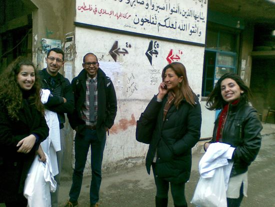 Ashish Premkumar at Volunteer Outreach Clinic in the Shatila refugee camp in Beirut, Lebanon, women's health in refugee camps