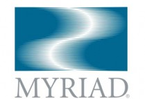 Myriad Genetics logo, human gene patents, Supreme Court decision
