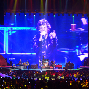Boston University BU, Marsh Chapel choir, Rolling Stones, 50 & Counting tour, Scott Jarrett, TD Garden