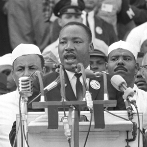 Martin Luther King Jr., I Have a Dream speech, Free at Last speech, Lincoln Memorial address, March on Washington, August 28, 1963
