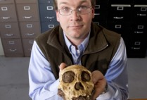 Boston University BU, College of Arts and Sciences CAS anthropology professor Jeremy DeSilva, prehistoric humans feet, physical therapist Kenneth Hold, how human ancestors walk