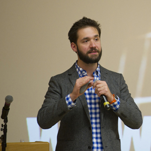 Boston University BU, Reddit cofounder Alexis Ohanian, tips on successful entrepreneurship