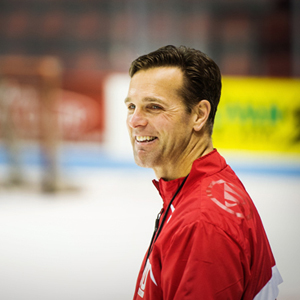Boston University BU, BU men's hockey coach David Quinn, Patriot League, BU athletics, hockey east, Agganis Arena