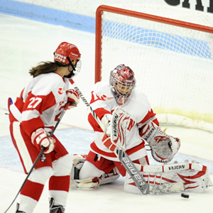 Kerrin Sperry, goalie, goaltender, Boston University, BU Terriers, women's ice hockey