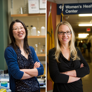 Xue Han, Boston University College of Engineering, ENG, Katherine Iverson, Boston University School of Medicine, MED, BUSM, Presidential Early Career Awards for Scientists and Engineers PECASE
