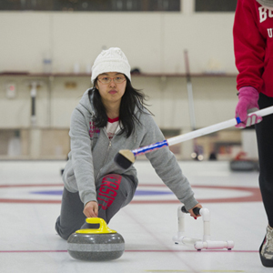 Boston University curling club, BU Curling Club, Boston University club sports, clympic sports