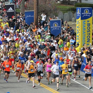 Boston University BU, 117th Annual Boston Marathon, 2013 marathon bombings, Lu Lingzi scholarship run, team contestants
