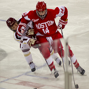 BU vs BC, Women's Beanpot Tournament Semi-Final 2014