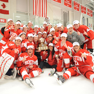 BU Terriers, 2014 Hockey East Women's Ice Hockey Champions, 2014 NCAA Women's Ice Hockey Championship, Frozen Four