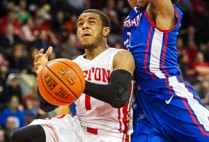 2014 Patriot League men's basketball championship, Boston University, American University, BU Terriers