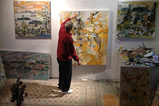 Boston University BU, Maine-based painter Jon Imber dies