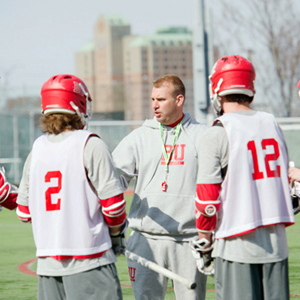 Ryan Polley, head coach, Boston University varsity men's lacrosse, BU Terriers