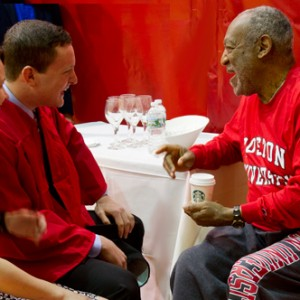 Sam Adams and Bill Cosby, Boston University Class of 2014, Boston University alumni, Kids Say the Darndest Things tv show