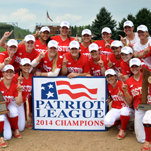 Boston University BU, womens softball, 2014 patriot league champions, NCAA tournament