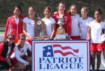 Boston University, BU Terriers, Women's Tennis, 2014 Patriot League Champions