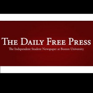 Boston University BU, The Daily Free Press, student newspaper, transition from daily to weekly paper