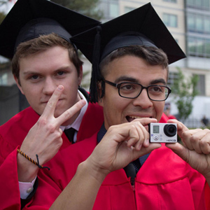 Chris Roewe & Erik Rojas, Boston University Class of 2014