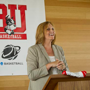 Katy Steding, Boston University, BU Terriers, women's basketball coach