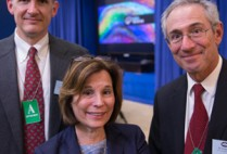 Boston University BU, BRAIN initiative, neuroscience, White House, Michael Hasselmo, Gloria Waters, Thomas Insel