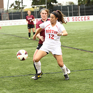 Boston University BU, Patriot League, womens soccer, BU Athletics, terriers
