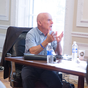 Boston University BU, College of Arts and Sciences CAS, Israeli retired admiral former head of Israel internal security agency Amichay Ayalon, Visiting Professor Nahum Karlinsky, Elie Wiesel Center for Judaic Studies.