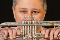 Cathy Sheridan, Deputy Chief Engineer, New York State Thruway Authority and Canal Corporation, trumpet player