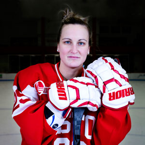 Marie Poulin, BU Hockey. Hockey East