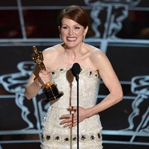 Julianne Moore accepts the Academy Award for Best Actress in a Leading Role