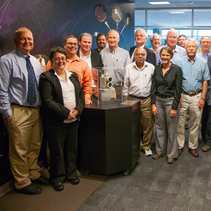 NASA Voyager spacecraft mission team