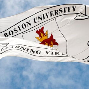Boston University flag