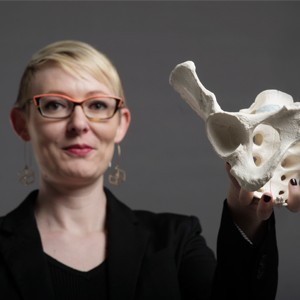 Kristi Lewton, a MED assistant professor of anatomy and neurobiology