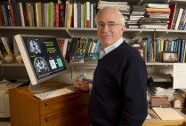 Howard Eichenbaum of the Center for Memory and Brain in his office and lab