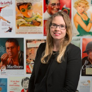 Stine Grodal, assistant professor of strategy and innovation at BU's Questrom School of Business, studied the evolution of light cigarettes. Photo by Michael D. Spencer