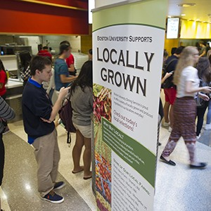 BU Dining Services Sustainability
