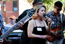 Boston University Medical Campus Band performs live at their annual barbeque