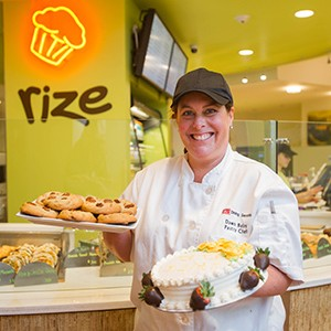 Dawn Baloy, Head Baker at Rize Bakery, Boston University