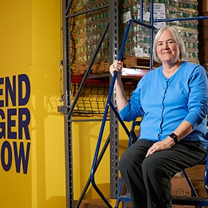 Lisa Scales, CEO, Greater Pittsburgh Food Bank