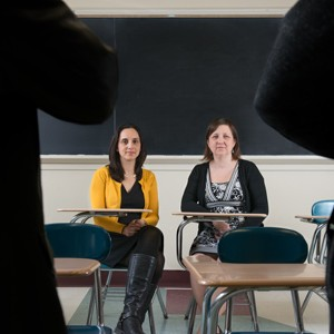 "BU researchers Jennifer Green and Melissa Holt say many bullied students find a new start in college. Says Holt: ""the overall picture is hopeful."" Photo by Melissa Ostrow"
