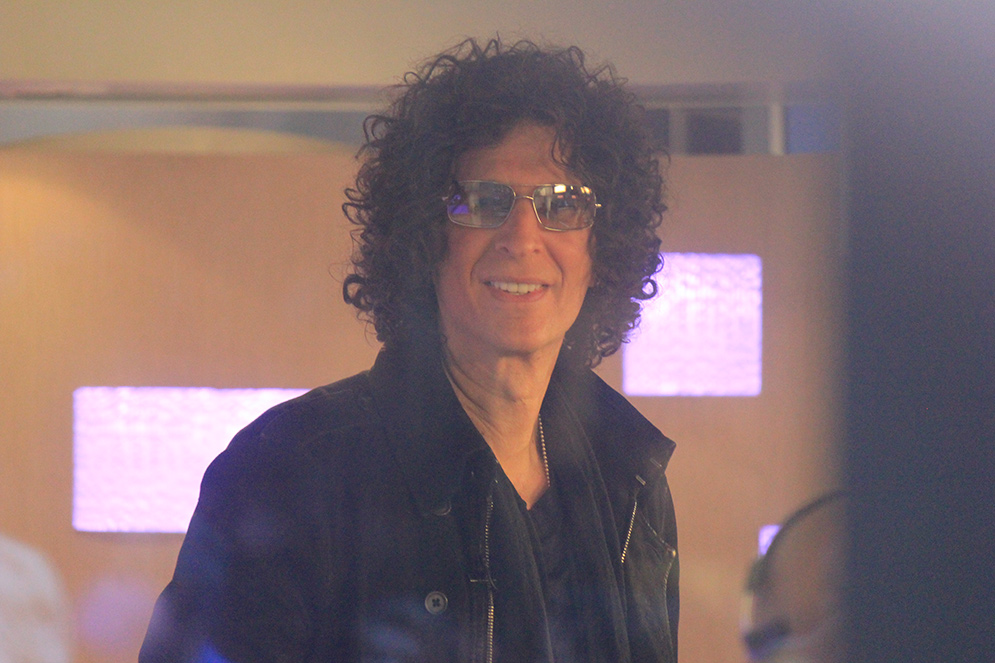 Radio broadcasting personality Howard Stern