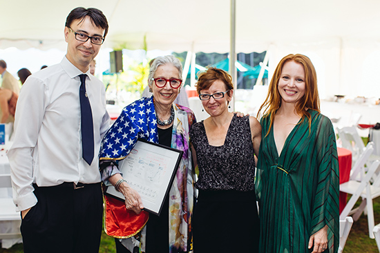 Lauren Ambrose at the Boston University Tanglewood Institute 50th Anniversary celebration