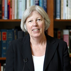 Patricia Hibberd, chair of the Department of Global Health at Boston University School of Public Health