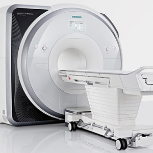 The Siemens 3 Tesla Magnetic Resonance Imaging scanner